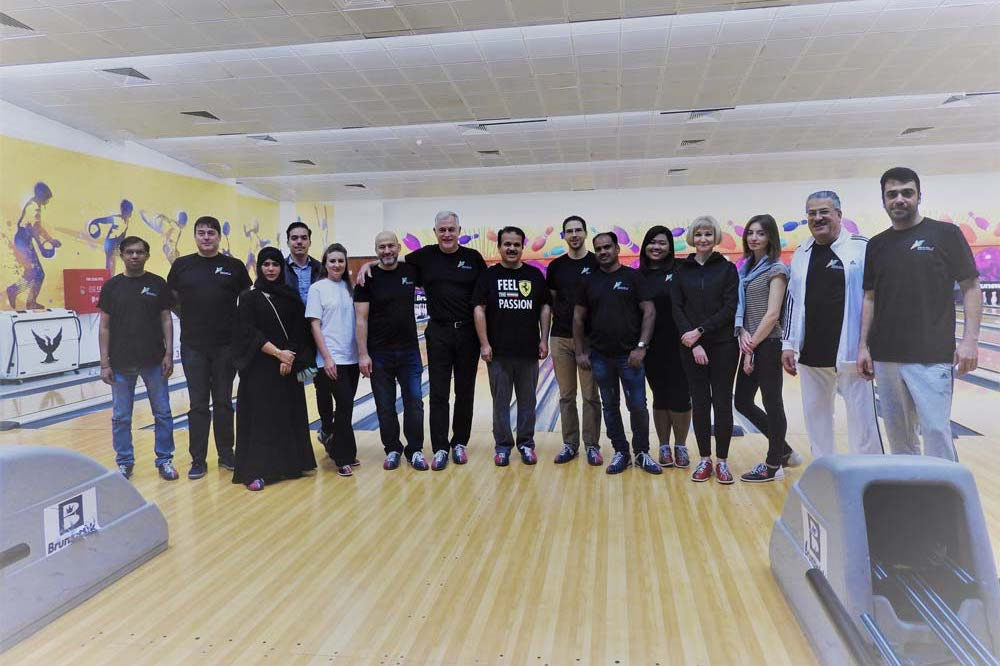 Nebras Power Organizes a Corporate Bowling Competition for National Sports Day